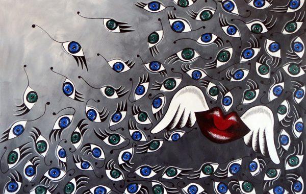 Paintings – Eyelips Series